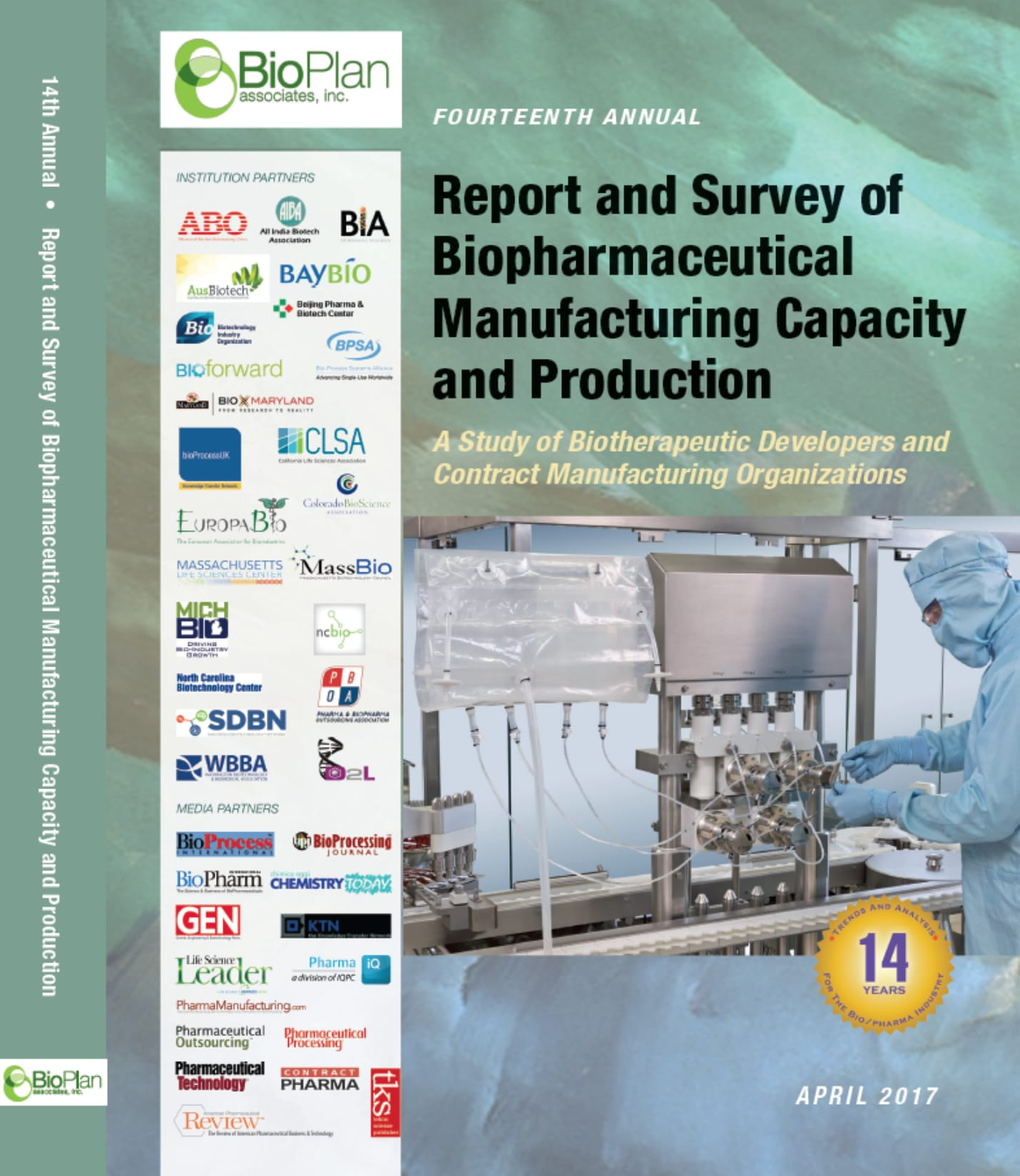 Biopharma Mfg Capacity and Production - BioPlan Associates